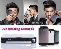 YOSA02 2Pcs/lot Luxury Ultra thin Aluminum Metal Brush Motomo Case Hard Back Cover for Samsung Galaxy S5 SIV I9500
