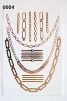 Flash Tattoo Classy Tats Jewelry Inspired Metallic Tattoo
