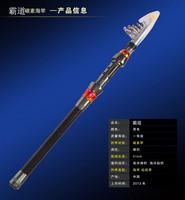 Ocean Beach Fishing Rods Ultra Short & Hard & Light Carbon Vara De Pesca Pescaria Ocean Boating Telescopic Fishing Rod Tackle