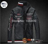 2014 jacket mens clothing spring summer Fashion jacket New pattern Special offer top grade jacket Black Blue White