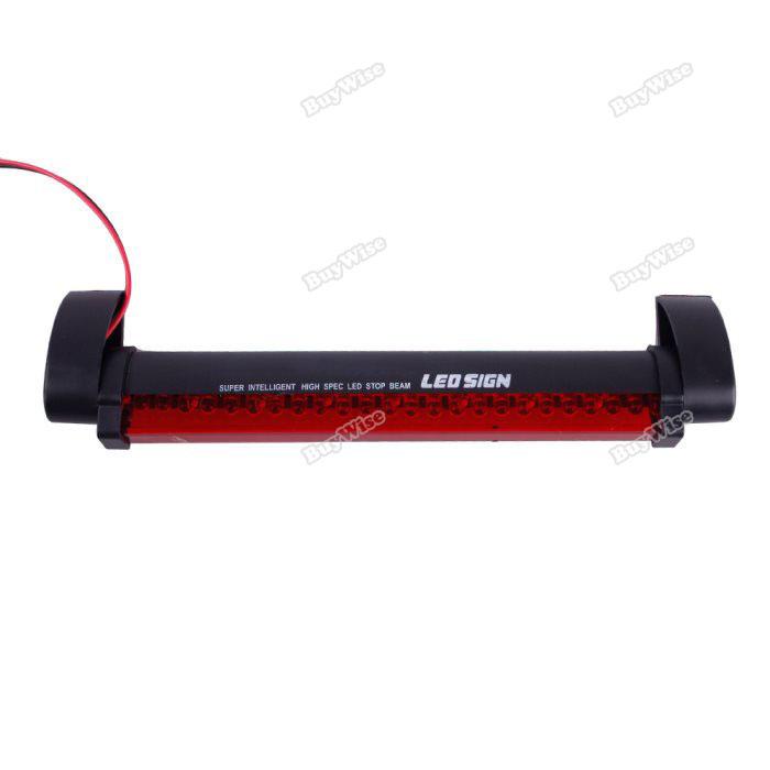 buywise more earning New 24 LED Third Vehicle Car Auto Fog Tail Rear Lamp Brake Warning Light 12V Red Rising stars(China (Mainland))