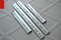 Free shipping car styling Stainless Steel Door Sill Scuff Plate trim For  2012-2013 Geely Emgrand X7 GX7