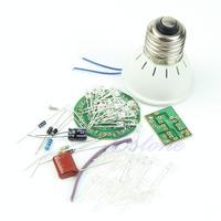 D19  1 Set Energy-Saving Light 38 LEDs Lamps DIY Kits Electronic Suite