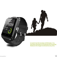 Free shipping U8 Smartwatch Bluetooth watch Smart WristWatches for iPhone Samsung HTC Android Smartphones +Anti-lost New Watch
