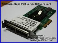 1000Mbps Quad Ports PCIe x4 x8 x16 LC Fiber Optic Network Adapter (4U)