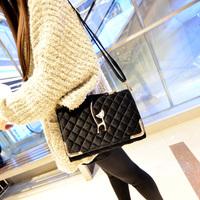 Fashion fashion women's handbag winter 2014 all-match women's bag velvet handbag cross-body bag shaping bag