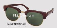 bamboo metal sunglasses
