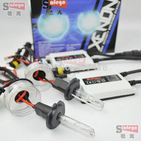 1 set working well ac 12v 35w h7 hid 35w 6000k 8000k 5000k 4300k 10000k 12000k kit xenon h7 35w xenon headlights for Auto car(China (Mainland))