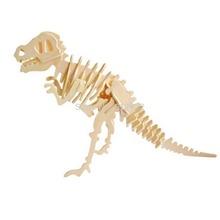 Jp203 assemblage 3D en bois animaux Puzzle pour enfants ( Dinosaur )(China (Mainland))