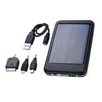 6000T Environmental Solar Panel USB Power Bank Battery 5000mAh