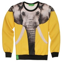 Newest style 3D Hoodies Elephant Printing High Quality Mens&Womens Sweatshirts Wholesale Dropshipping Size:S~XL MHS326
