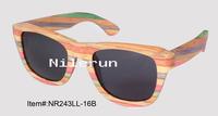 colored bamboo eyeglasses