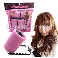 Hot Sale 6pcs Large DIY Sponge Velcro Cling Hair Styling Roller Curler Making Tool Roll Salon