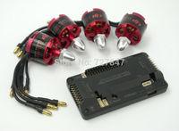4pcs/lot DJI 2212 920KV Brushless Motor +Sidepin APM2.6 ArduPilot Mega 2.6 APM Flight Control Board