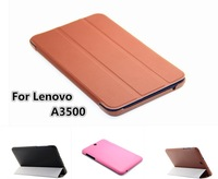 YOSA02 Luxury fashion Business Lenovo A3500 A7-50 Lenovo IdeaTab A3500 Case PU Leather Cover Flip Stand 7inch Tablet