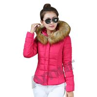 Amur Women Winter Warm short Cotton Jacket Coat Hooded Down Parka 6 fresh color