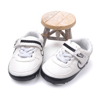 Reatil baby boy/girls brand shoes PU soft soled sneakers baby first walkers newborn sport shoes kids shoes 1pair Free Shipping