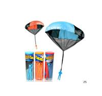 Creative Kid Children Handle Hand thrown Parachute Toy Umbrella Outdoor Sports Exercise