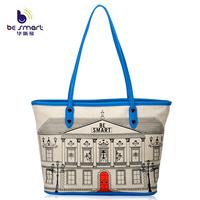 Be Smart casual tote bags women's fashion handbag made of canvas high quality B239