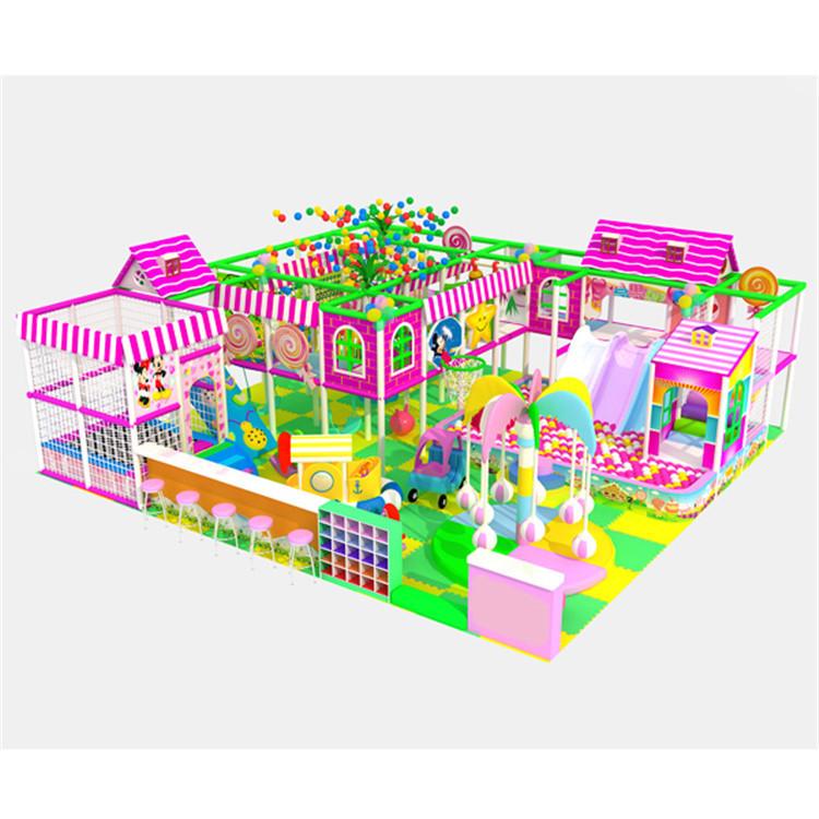 Customized newest free designs kindergarten naughty castle playground equipment(China (Mainland))