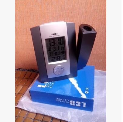 exports of electronic clock English multi-function display table clock alarm clock(China (Mainland))