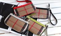 Da205  B Fashion  style   canvas envelope clutches zipper handbag wholesale drop shipping free shipping
