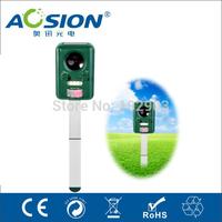 AN-B030 Garden Dog repellent Solar ultrasonic cat repeller bird animal repeller pest control chaser  rechargeable battery