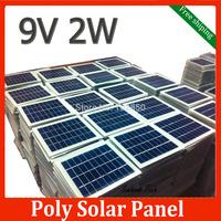 4pcs 9V 2W 135mm*125mm DIY Polycrystalline Silicon Solar Cell,Solar Panel  DIY Poly solar panel free shipping