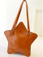 New Collection women pentagram style star messenger bag, women fashion purses irregular shape, brand shoulder bag