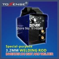 power portable arc welding machine 3.2MM WELDING ROD 200A 220v free shipping