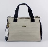 2014 New Fashion women kip handbag casual Tote linen and leather shoulder bag portable monkey bags Hot sale free shipping