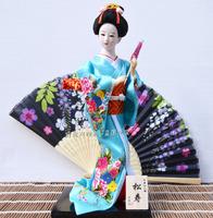 Free shipping gitfs Dolls Home decorations 12inch Hand made Japanese geisha doll beautiful and creative, very nice