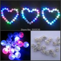 free shipping 50pcs/lot white LED BALLOON lamp 24 hours glowing time,LED ball  light for  paper lantern light wedding decoration