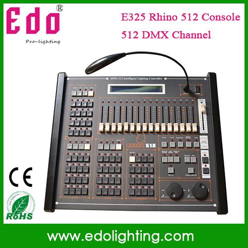DJ 512CH Rhino RGB LED 512 console,Sunny 512 DMX dj Controller,90V-240V DJ control panel(China (Mainland))