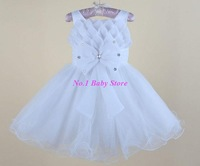 Top quality baby wedding dress,Baby girl wedding clothes,Free shipping baby dress!Party dress for baby girl