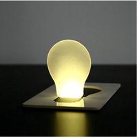 Free Shipping Portable LED Card Light Pocket Lamp Purse Wallet Emergency Light