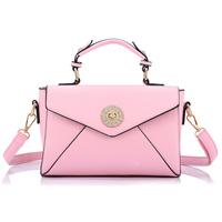 Freeshipping autumn fashion trend diamond women's handbag vintage color block handbag cross-body one shoulder small bag