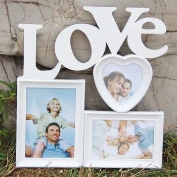 Новинка винтаж свадебное фото для картины 3 коробки любовь форма фоторамка украшения дома бесплатная доставка