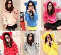 Free shipping 2014 new arrivel sweatshirt hoodies sport suit women sudaderas female sudaderas mujer ladies