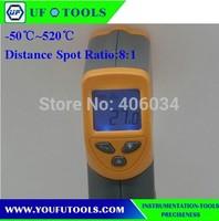 UF-520 Hand-held Portable Digital Medium Temperature Infrared /Mini Infrared Thermometer -50~520 degree
