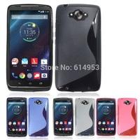 For Motorola Moto Droid Turbo XT1254 Case Cape TPU S line Scratch-Resistant Soft Gel Case Cover