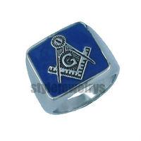 Free shipping! Masonic Ring Stainless Steel Jewelry Freemasonry symbol Masonic Ring SWR0011