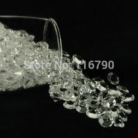 free shipping 10000pcs 4.5mm Acrylic Diamond Confetti Wedding Decoration For Wedding Party Favors