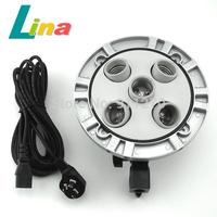 E27 5 Socket Lamp Five Light Bulb Holder Softbox Support Bracket Metal Adapter
