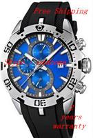 New F16671/3 2014 Tour de France Chrono Black Rubber Band Men's Quartz Watch F16671-3