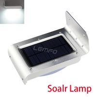 Waterproof LED Solar Lamp Outdoor Garden Decoration Light With Solar Panel Saving Motion Sensor 16 Lamp Beads 2nd Generation New