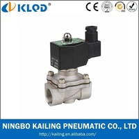 Medium Pressure Stainless Steel 2 way 110v  solenoid valve  for water