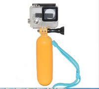 Gopro Float Bobber Go pro Handlebar Mount Gopro Monopod Floaty Tripod Grip Wrist Strap For Gopro Camera Hero 4 3 3+ 2 & SJ4000