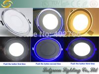 high qulity long lifespan led hotel lamp wine bar bulb double color panel