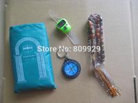 100pcs/lots Hot!!! New compass muslim pocket prayer mat for muslim carpet  beads tally counter count reset